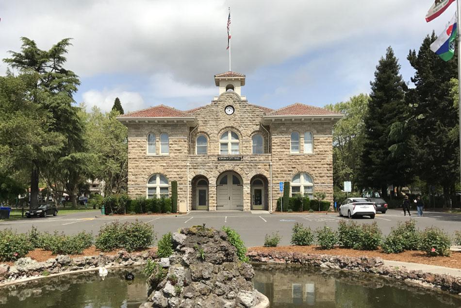 Sonoma, CA — The Historic Sonoma Plaza